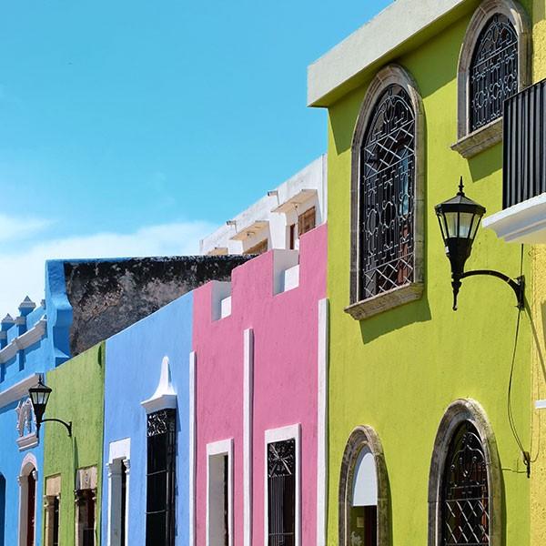 Visita a Campeche en el viaje fly and drive Yucatán