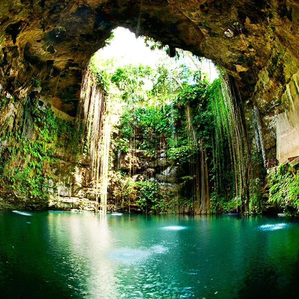 Cenote de Chichen Itzá, imprescindible en el viaje a México
