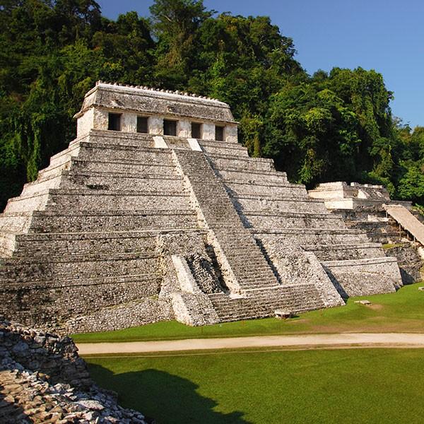 Palenque, sitio arqueológico en México