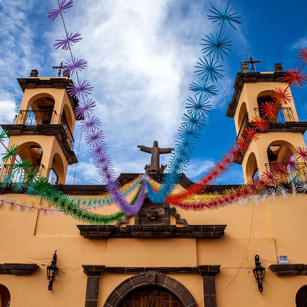 San Miguel de Allende, ciudad colonial de México