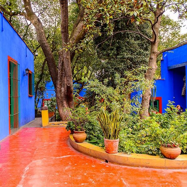 Casa Azul de Frida Khalo en Coyoacán, Ciudad de México