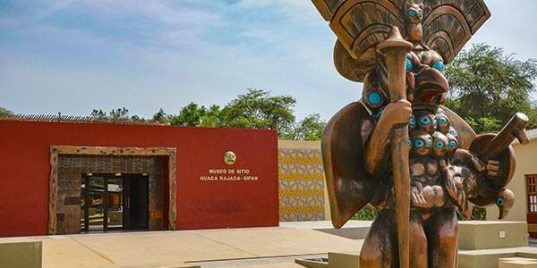 Museo del Señor de Sipán en Chiclayo, norte de Perú