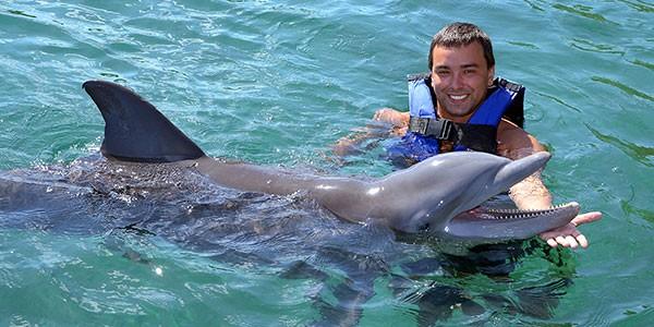 Nadar con delfines en Los Cabos
