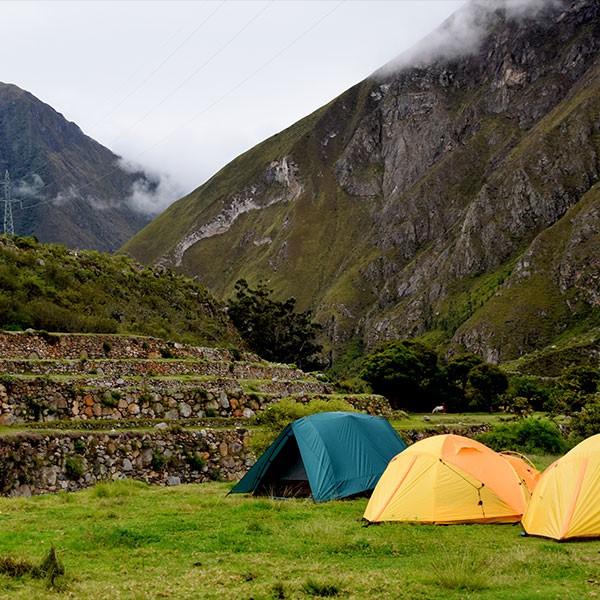 Camino inca 4 días con alojamiento en tiendas de campaña y pensión completa