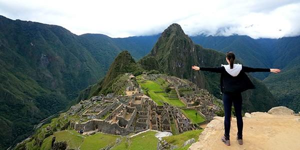 Subida a Huayna Picchu en Perú
