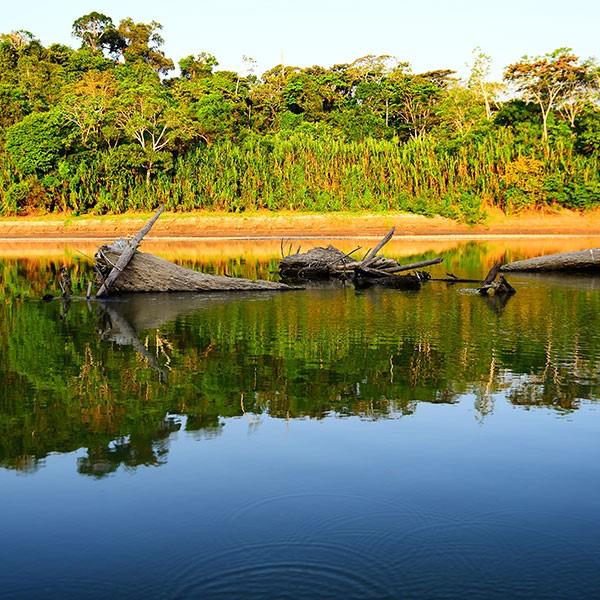 Rio Madre de Dios, Tambopata, Amazonas peruano