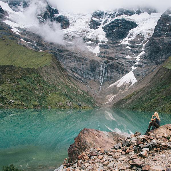 trekking de preparación a la laguna Humantay