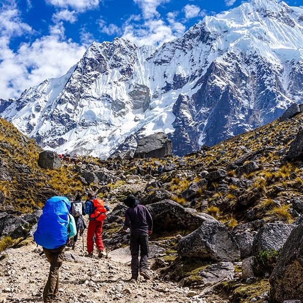 Trekking Salkantay a Machu Picchu dia 1