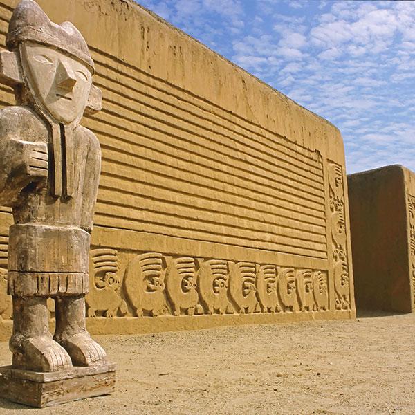 Chan Chan, Trujillo, en el viaje por el norte de Perú
