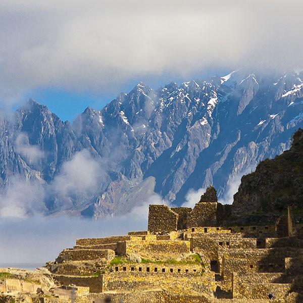 Templo de Ollantaytambo, en el Valle Sagrado de los Incas