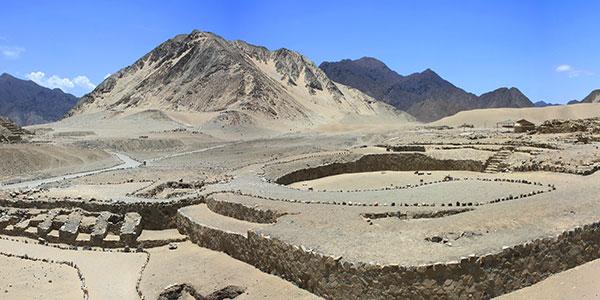 Caral, Patrimonio Histórico de la Humanidad, en Perú