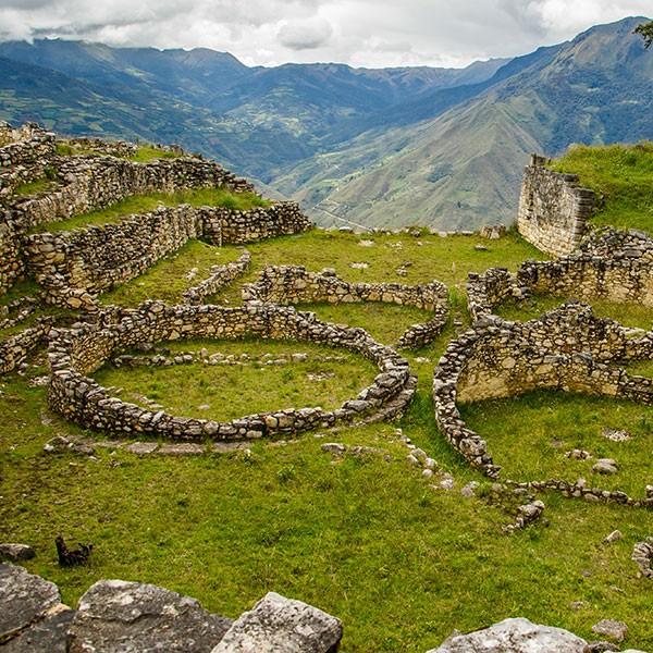 Fortaleza de Kuelap en Norte de Perú