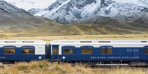 Tren Belmond Andean Explorer de Cuzco a Puno