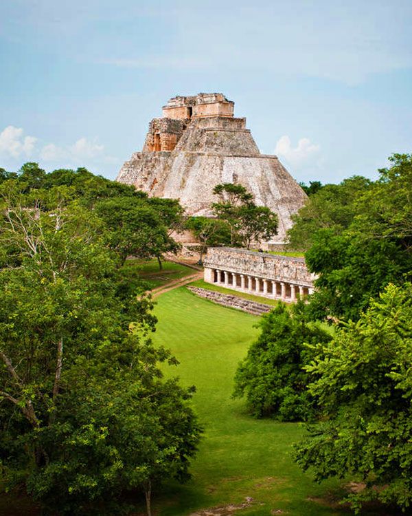 Ruta maya en México: Chichen Itzá, Palenque, Uxmal, Tulum