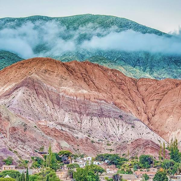 Quebrada Humahuaca en Salta, Argentina