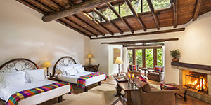 Hotel 5 estrellas Inkaterra Machu Picchu en el fin del trekking Salkantay