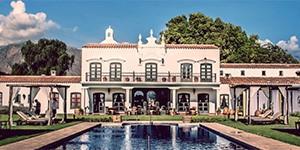 Hotel 5 estrellas Patios de Cafayate norte Argentino