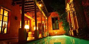 Hotel boutique Posada del Ángel en La Antigua, Guatemala