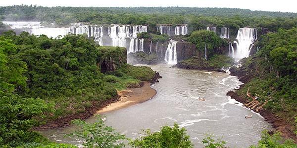Sobrevuelo en helicóptero de las cataratas de Iguazú