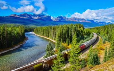 Viaje por las Rocosas canadienses en tren