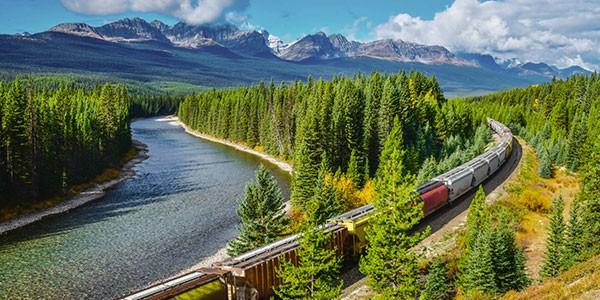 Viaje por las Rocosas canadienses en tren Rocky Mountaineer