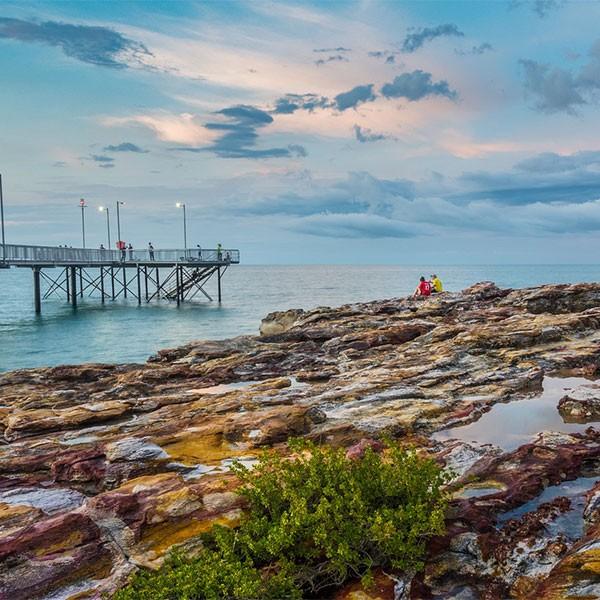 Costa de Darwin en Australia