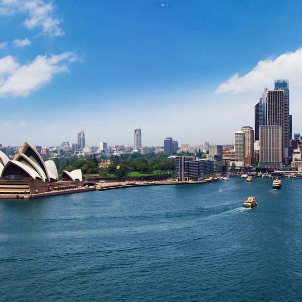 Sídney, inicio del viaje de novios a Australia