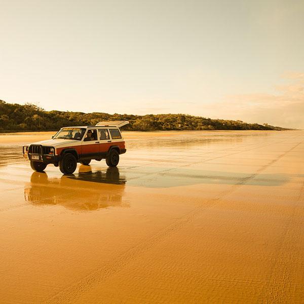 Fraser Island visita en 4x4