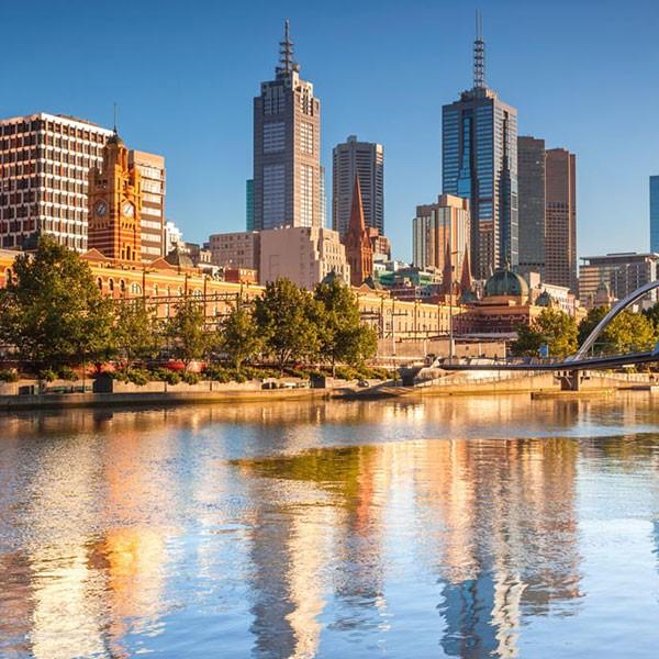 Visita a Melbourne en la luna de miel en Australia