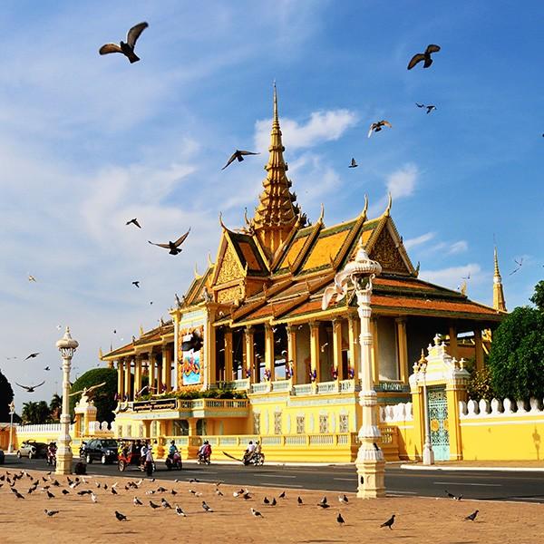 Palacio de Phnom Penh, Camboya