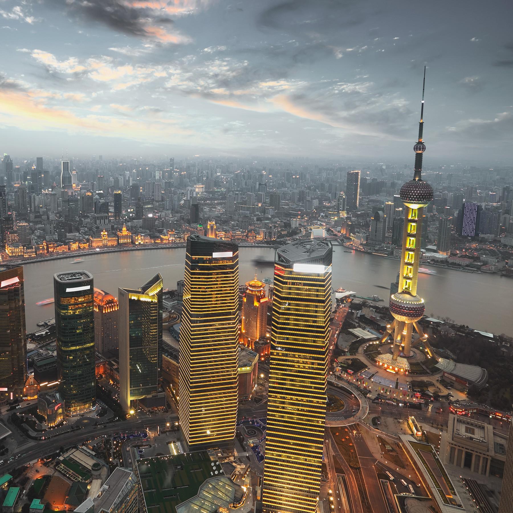 Panorámica de Shanghái