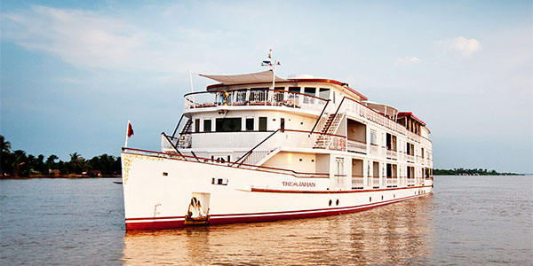 Viaje a Camboya con crucero por el Mekong