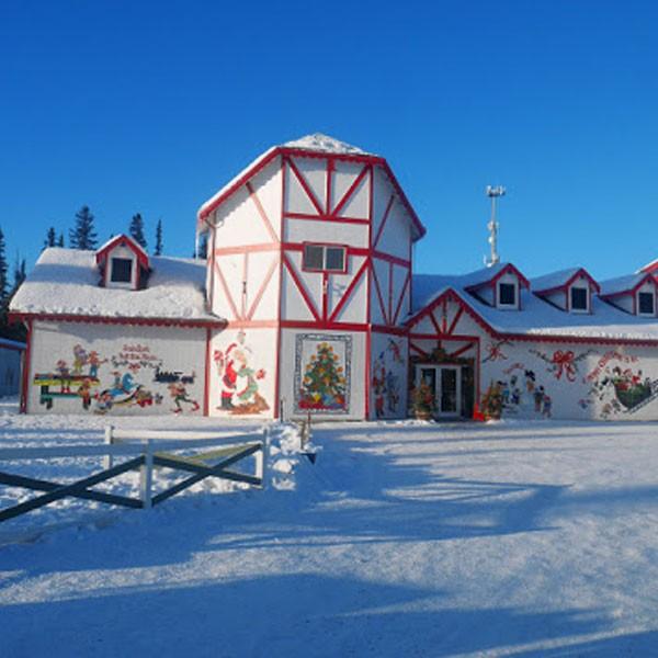 Casa de Santa Claus en North Pole