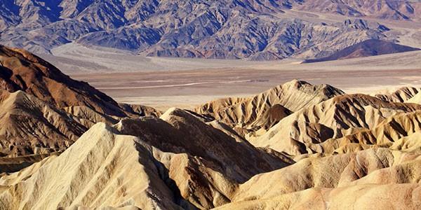 Death Valley en el Desierto de Mojave, Estados Unidos