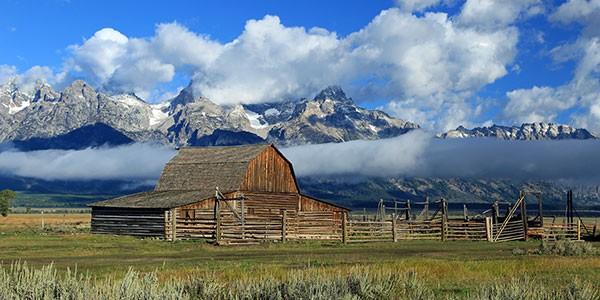 Parque Nacional Grand Teton en el fly drive costa oeste