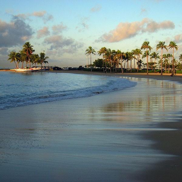 playa de Waikiki en Honolulu