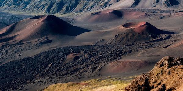 Monte Haleakala en Hawai