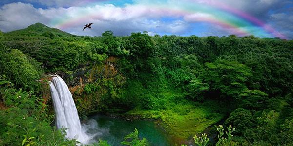Escenarios de rodaje de Jurassic Park en Hawai