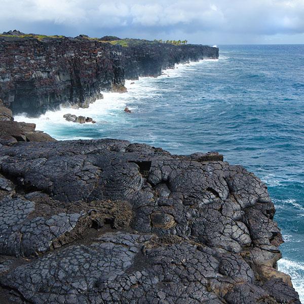 Parque Nacional de los Volcanes en Big Island Hawai