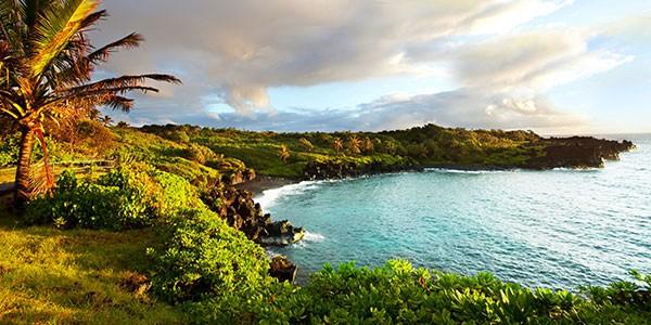 Valle Waimea en Oahu, Hawaii