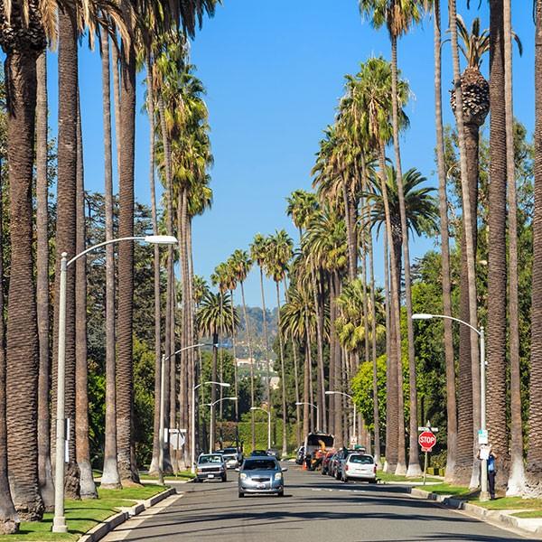 Beverly Hills, Los Ángeles, costa oeste EEUU