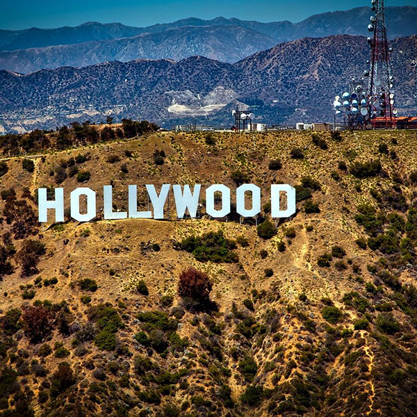 Cartel de Hollywood, Los Ángeles, California