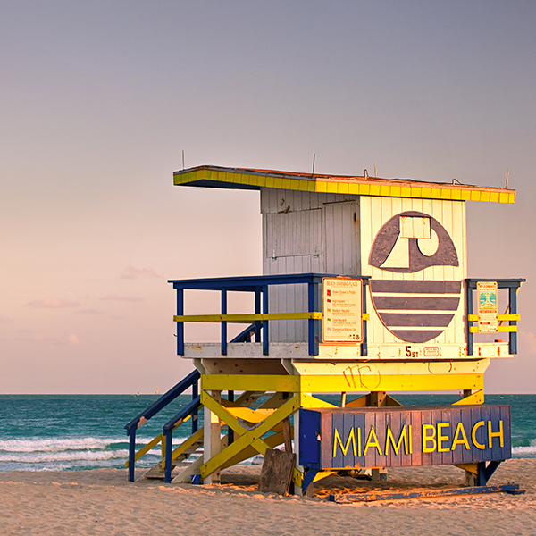 Fly and drive Florida: Miami Beach