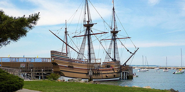 Réplica del Mayflower en Plymouth