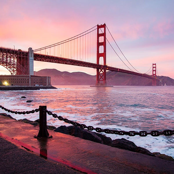 Puente Golden Gate en San Francisco, Estados Unidos