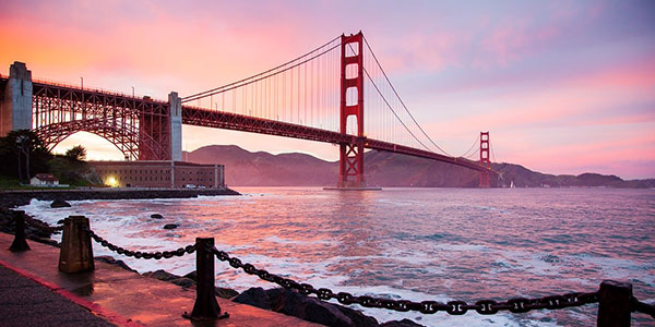 Visita al Golden Gate en San Francisco viaje fly & drive