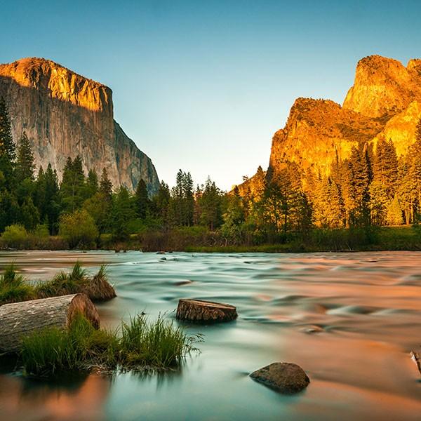 Ruta en coche al Parque Nacional de Yosemite, EEUU