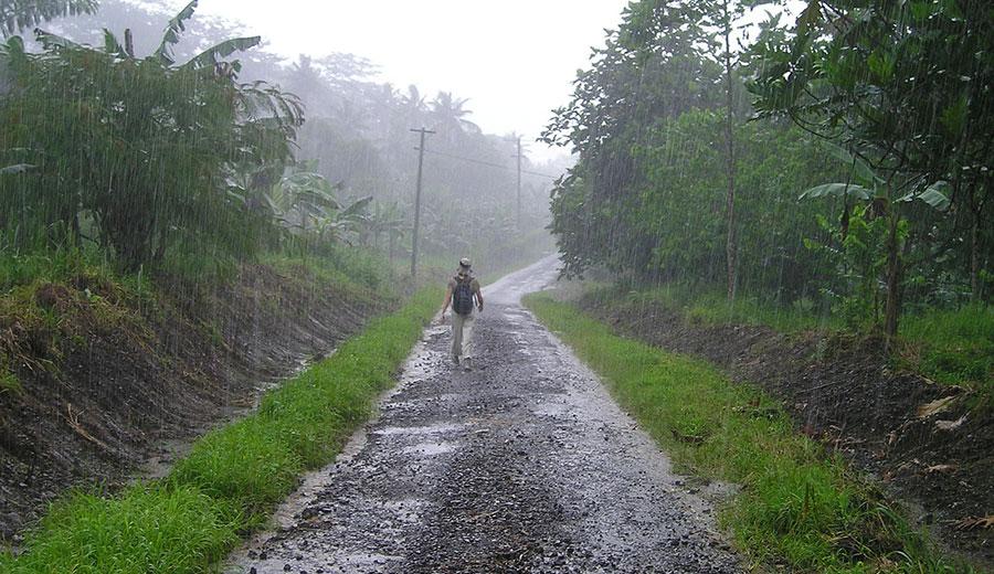 Temporada de lluvias en Indochina