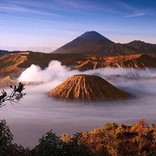 Monte Bromo Volcan en Indonesia