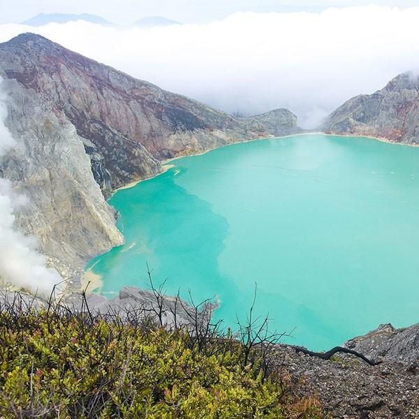 Trekking al cráter de Ijen